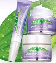 New Avon Skincare Product: Avon Elements Youth Restoring replace Avon Solutions Ageless Results. Available for purchase in Avon Campaign 13 2013.