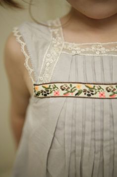 Ribbon trim: Garden Party Dress or Blouse