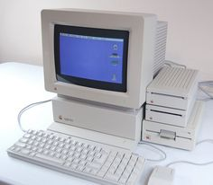 Apple IIgs --- My third computer, except I only had ONE 3.5 in. floppy drive, and NO hard drive. Oh, and a dot matrix printer. After this computer, I switched over to an IBM compatible system. Now, I have an Apple Macbook Pro AND an IBM compatible (Dell) desktop system.