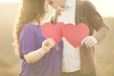 Stephanie Williams Engagement session, I loved this one with the hearts!