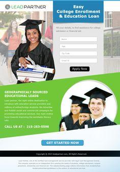 Education Landing Page 2