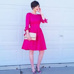 """""""Valentine's Day outfit idea #1: whether you want a beau () on your arm or a bow () on your arm , this gorgeous dress courtesy of @shabbyapple has got…"""""""