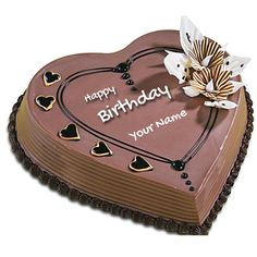 Happy Birthday Wishes For Friend With Chocolate Cake