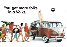 1960's Ad Campaign for VW.