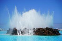 Fountain in Puerto de la Cruz, Tenerife, Canary Islands, Spain, Africa, Planet Earth, Solar System, Milky Way