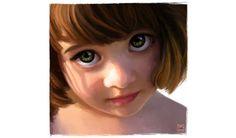 Cali Rezo, peintre numérique,  http://www.calirezo.com/portrait-peinture-numerique-digital-painting.html#  Mina
