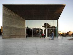 Municipal Theatre - Montalto di Castro, Italy - 2011 - MDU architetti #architecture #theatre #italy