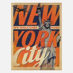 New York Extra Aged 18x24