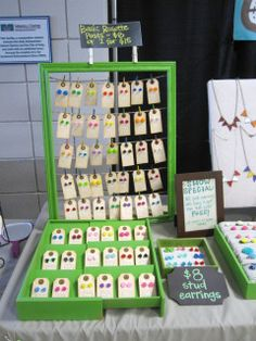 Spring Craft Show Display « The Lazy Owl