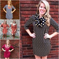 Like what you've seen so far? Check out ALL of our new dresses for Fall!!  http://www.brandisboutiqueshop.co/category_155/Dresses.htm.