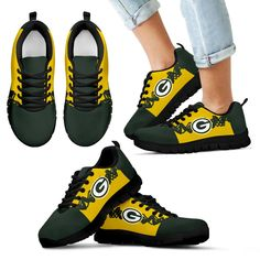 Doodle Line Amazing Green Bay Packers Sneakers V1 – Best Funny Store