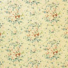 Tasteful print glacier decorator fabric by Laura Ashley. Item LA1275.518.0. Huge savings on Laura Ashley products. Free shipping! Featuring Laura Ashley Fabric. Always first quality. Find thousands of patterns. Sold by the yard. Width 54 inches.