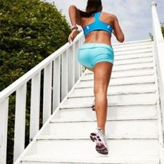 Got a flight of stairs at the gym, at home or at work? Put them to good use with these high intensity cardio and strength training exercises.