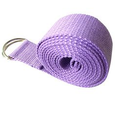 Your Supermart DRing Yoga Stretch Strap Training Belt Waist Leg Fitness Cotton Purple *** Want to know more, click on the image.
