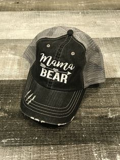 2def2d7e6 Sugar Pine Boutique · Products · Mama Bear Trucker Hat