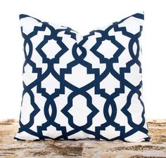 Decorative Throw Pillow Covers Navy Cushion Covers Navy and