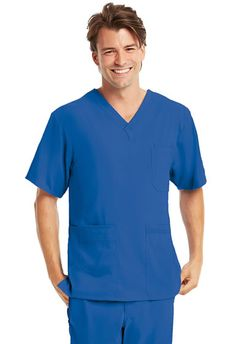 KD110 by Barco Uniforms Men's Scrub Top.  Free Shipping on qualifying orders!  Shop now: http://www.nationalscrubs.com/KD110-Barco-Uniforms-Mens-v-neck-top-p/bc0109.htm