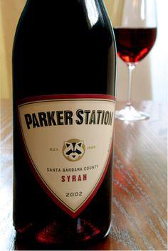 Parker Station Syrah packaging
