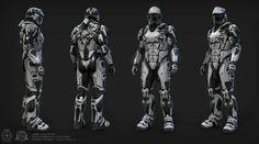 WIP Star Citizen UEE medium armor