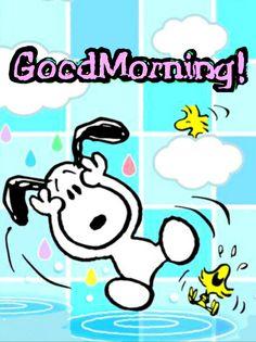 Sprüche guten snoopy morgen Guten Morgen