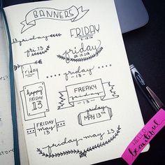 "Képtalálat a következőre: ""bujo lettering"" - Crafting Intent Journal Layout, My Journal, Journal Pages, Journal Ideas, Bullet Journal Design, Bullet Journal Inspiration, Bullet Journals, Bullet Journal Headers, Tittle Ideas"