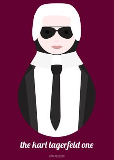 The Karl Lagerfeld one
