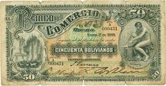 bolivia currency | photo courtesy of Heritage Auction Galleries