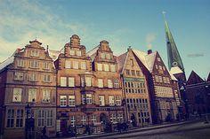 Marktplatz of Bremen, Germany
