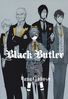 This picture shows contrast because the tan and monochrome colours contrast against each other. Gold is used to attract attention to the collars of the suits, the bows, the handkerchief and the necktie. I think that using contrast to highlight an accessory that represents each character is an interesting idea and I look forward to seeing every title page of Black Butler books.