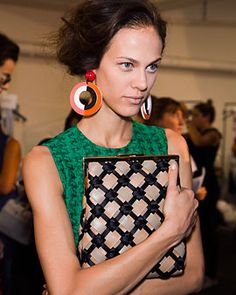 spring 2012 bags trends fashion trends marni woven clutch