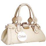 Chloe Paddington Satchel Bag Ivory