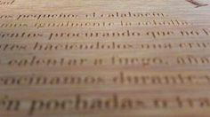 Grabacion en madera