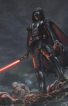 Darth Vader (aka Anakin Skywalker) - student of Darth Sidious.