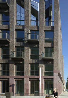 Solid 11, Amsterdam,  by Tony Fretton Architects