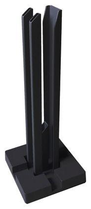 Platine De Fixation Pour Poteau Aluminium Neva Brico Depot Laine De Verre Laine De Roche Poteau