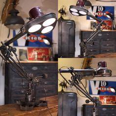 Deco Design, Info, Toulouse, Automobile, Table Lamp, Lighting, Home Decor, Hu Ge, Vintage Industrial