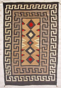 Historic Native American Textile : ght 1040 : Crystal : Circa 1920 - Nizhoni Ranch Gallery