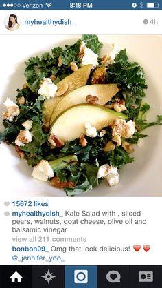 Myhealthydish's Kale Salad Idea