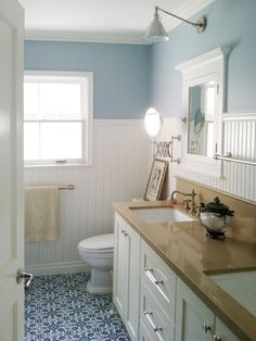 Design Trend: Decorating With Blue | Color Palette and Schemes for Rooms in Your Home | HGTV... love the walls