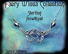 Faery Wicca necklace