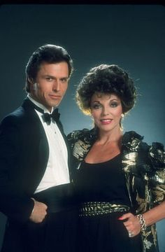 """Dynasty"" Mike Nader & Joan Collins"