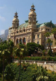 Salle Garnier, Opéra de Monte-Carlo, French Riviera.