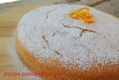 #giorgiapassionecucina: #torta #bianca di soli #albumi, un'idea per quando vi avanzano da una precedente ricetta.