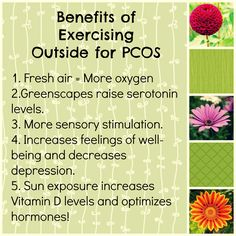 Exercising outside is a great idea for everyone, but it may be even more important for those of us with PCOS.