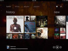 Track 8 by Ender Labs, iphone, ipad app.   Metro on iOS