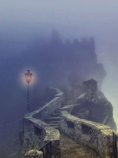 Sometimes if you're very lucky, out of the mist a light will shine, showing you the way...