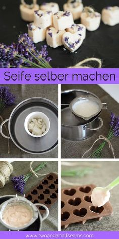 Lavendel Seife selber machen Make lavender soap yourself make lavender soap yourself The post lavender make soap yourself first appeared on gifts ideas. Lavender Soap, Lavender Garden, Diy Slime, Engagement Ring Cuts, Diy Candles, Photo Candles, Candle Making, Soap Making, Trifle