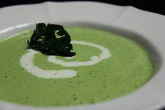 Raw Vegan Cream of Spinach Soup