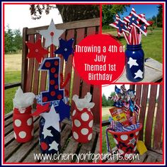 Throwing a 4th of July Themed 1st Birthday! -Holiday Crafts