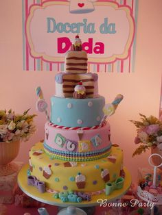 Bonne Party Festas Infantis - Decoração Provençal   Doceria da Duda